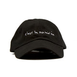 Black-Dad Cap