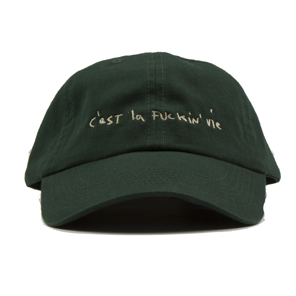 Forest Green-Dad cap