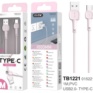 Cable TB1221 Tipo C One +