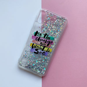Funda Móvil Gel Glitter Want to See - Missfundas