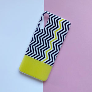 Funda Gel Rayas Amarillo - Missfundas