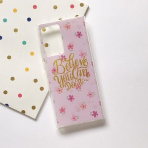 Funda Gel Dibujo Believe