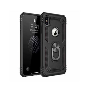 Funda De Movil Armor Ring Negro