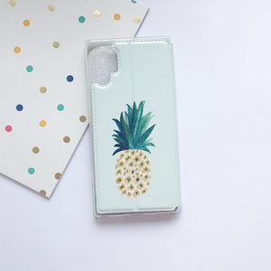 Funda De Móvil Tipo Libro Dibujo Note 10 Plus