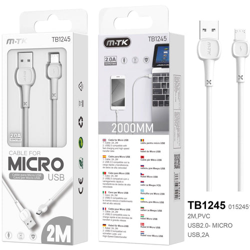 Cable 2M TB1245 Android MTK