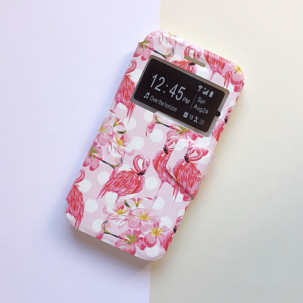 Funda Libro Diseño Flamingos - Missfundas