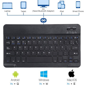"Funda Teclado Bluetooth Para iPad 9.7"" - Missfundas"
