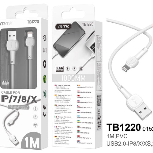 Cable TB1220 MTK Para iPhone