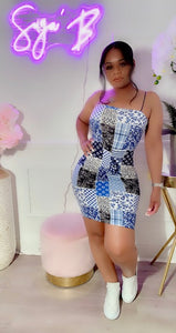 """PATCHWORK"" DRESS"