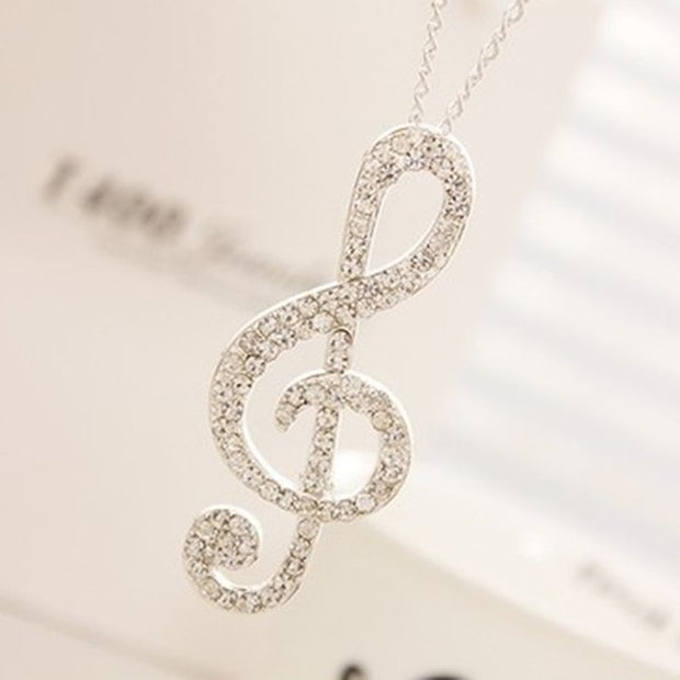 Brilliant Musical Necklace