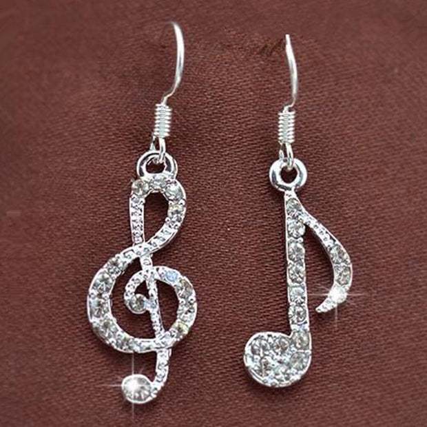 Musical Glamour Brilliant Earrings