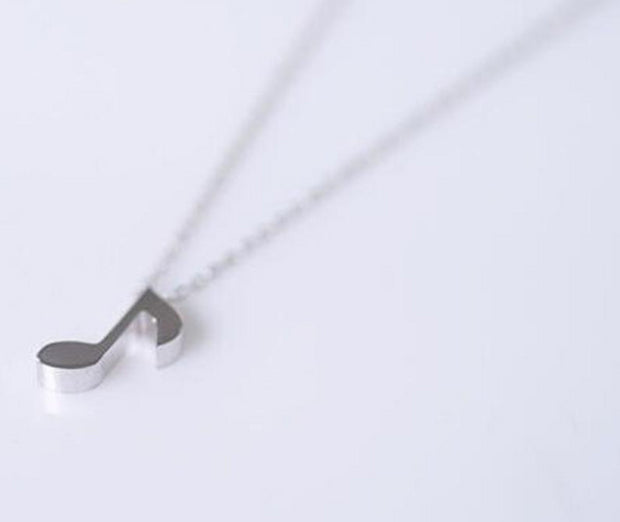 Quaver Musical Necklace