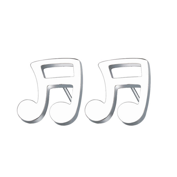 Little Musical Earrings