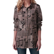 Women's musical shirt