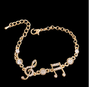 Brilliant Musical Women Bracelet