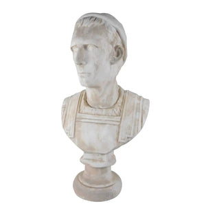 19th Century Italian Classical Roman Bust of Emperor