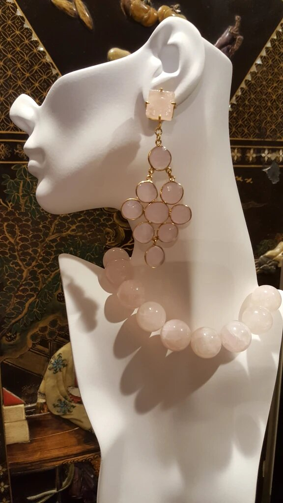 BERMUDA BAY CHALCEDONY EARRINGS