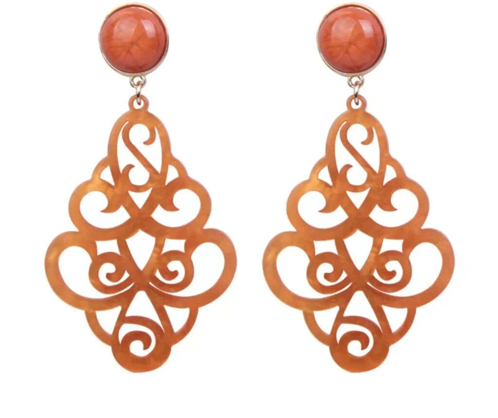 Veranda Earrings Apricot