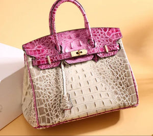 The Hampton Haute Handbag Collection from Mindy Grutman - Pink
