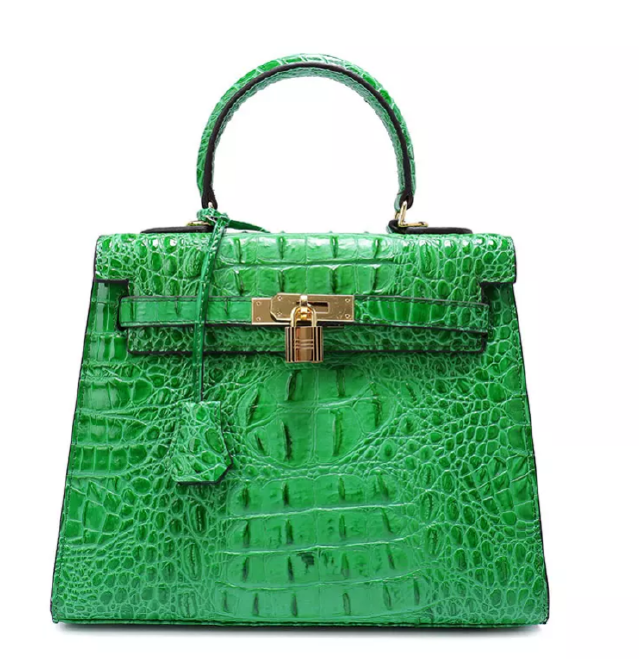 Green BRAZILLIAN COURT BAG