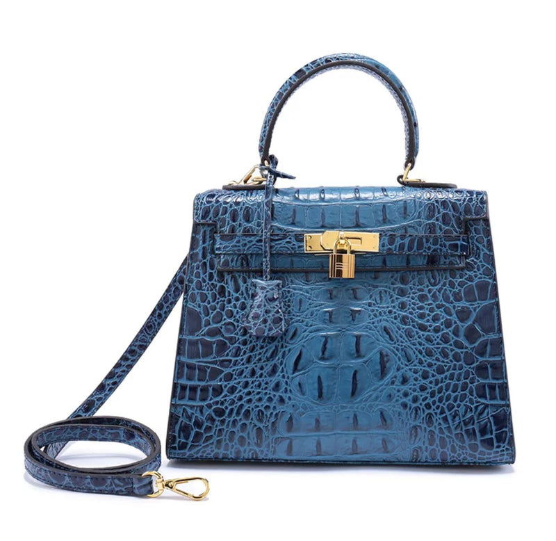 Blue BRAZILLIAN COURT BAG