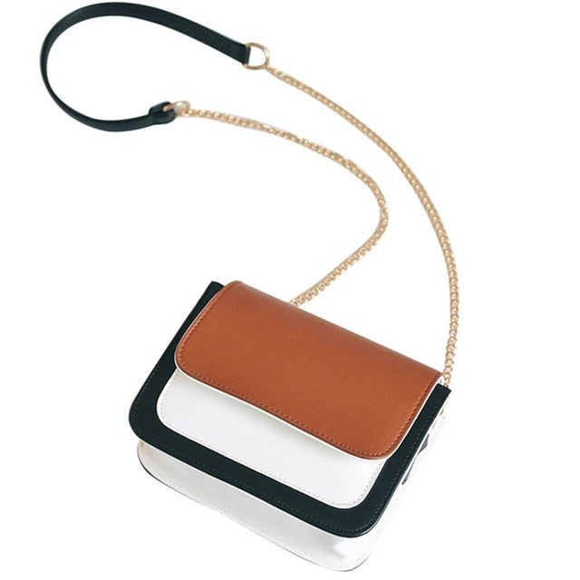 Fashion Women shoulder bag Leather Chain Handbag