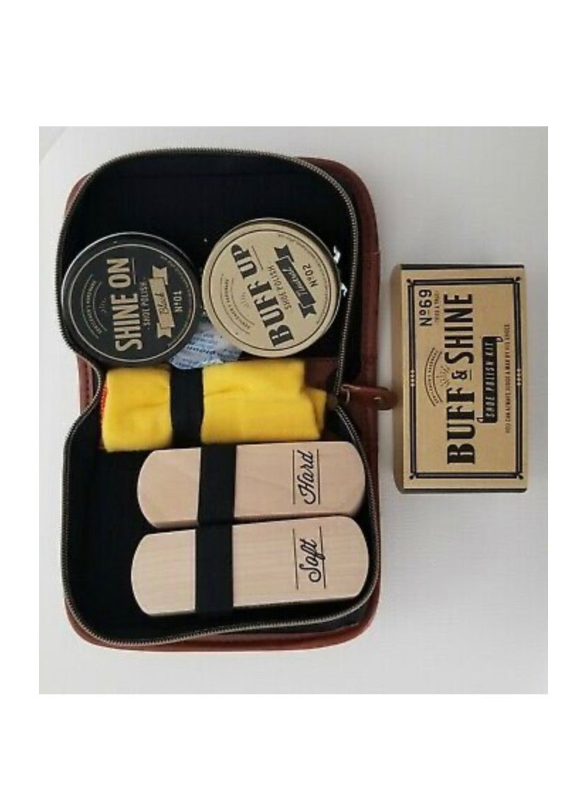Gentleman's Hardware luxury shoe polish kit