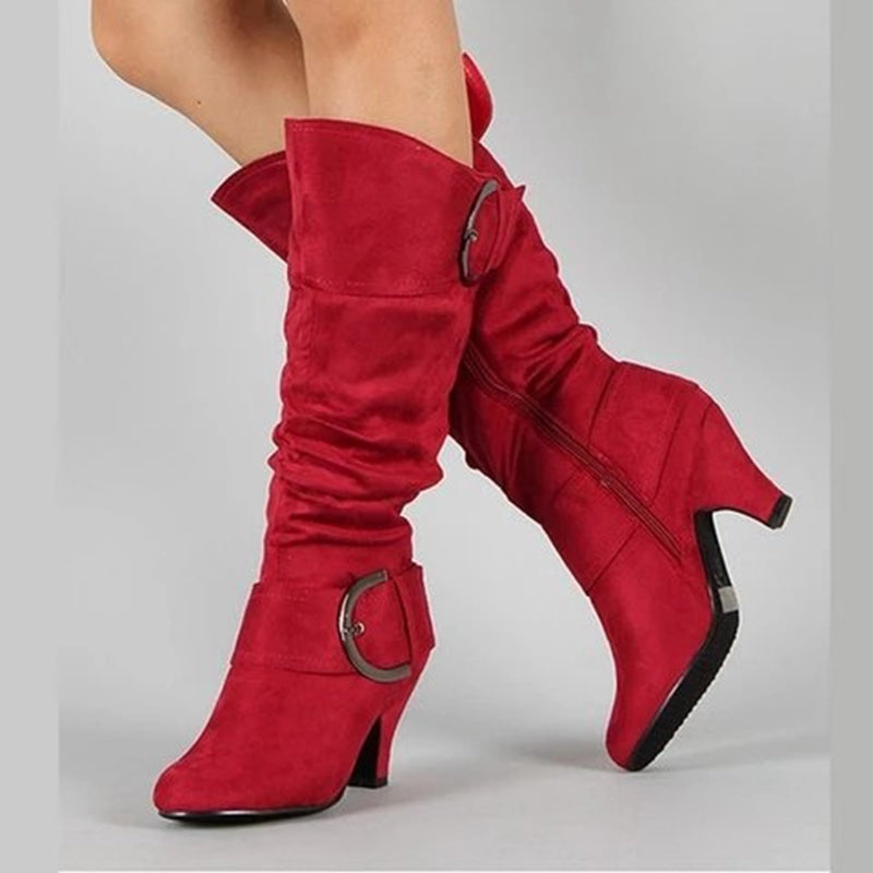Winter Boots Women Mid-Calf Boots