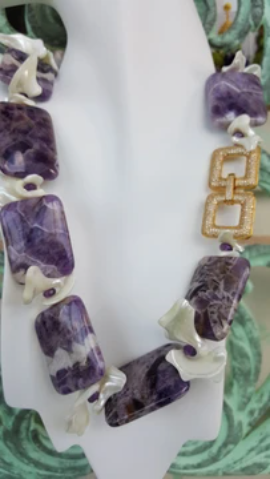 RUSSIAN CHAROITE NECKLACE