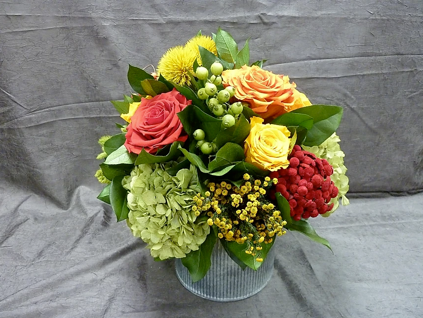Handmade Floral Arrangement Permanent Botanical - BOT 146