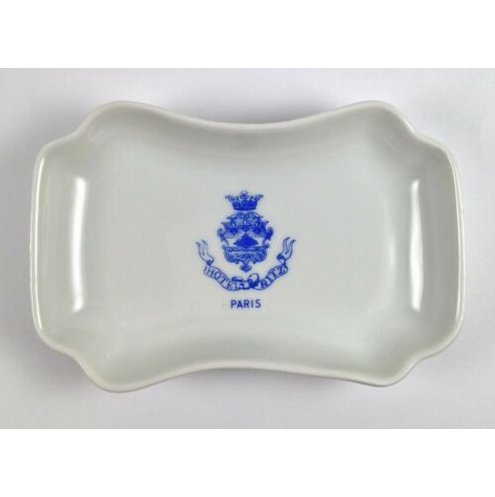 Vintage Hotel Ritz Paris Trinket Soap Dish