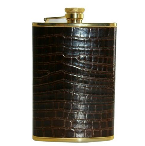 Vintage Comoys of London Stainless Steel Flask