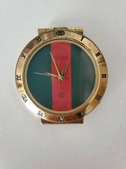 Vintage GUCCI travel alarm clock