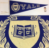 Vintage Yale Bulldogs New Haven University Ivy League Pennant