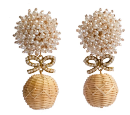 PEARL & BOW LYFORD CAY EARRINGS