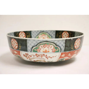 Early 19th Century Chinese Wucai Large Bowl