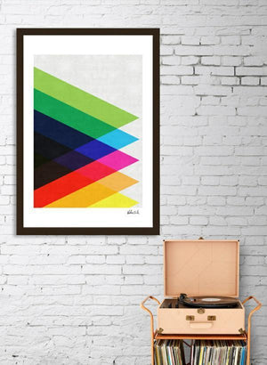 Colorful Triangles  Frame