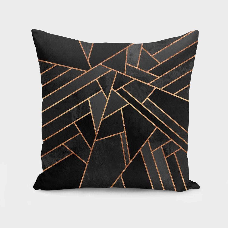 Black Night  Cushion/Pillow