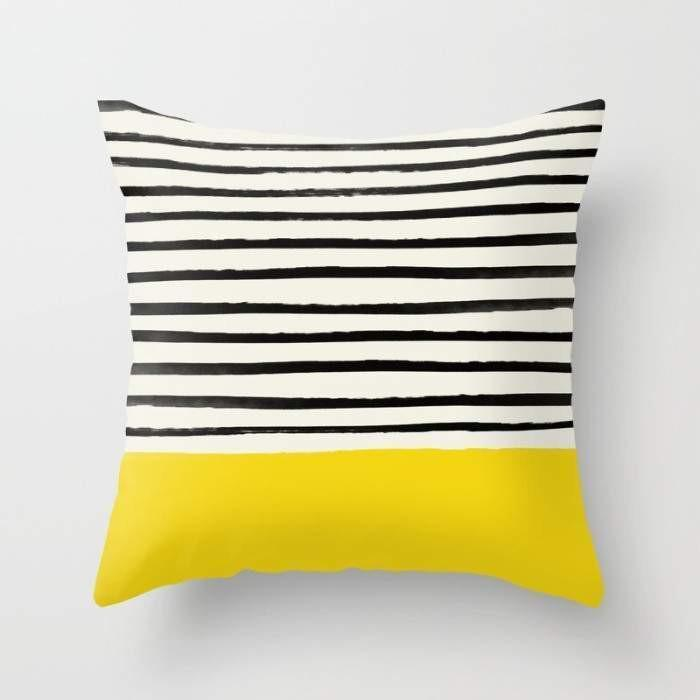 Sunshine x Stripes Cushion/Pillow