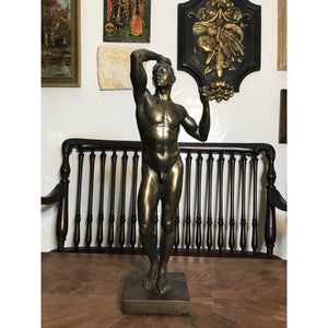 Vintage the Age of Bronze After Auguste Rodin Statue