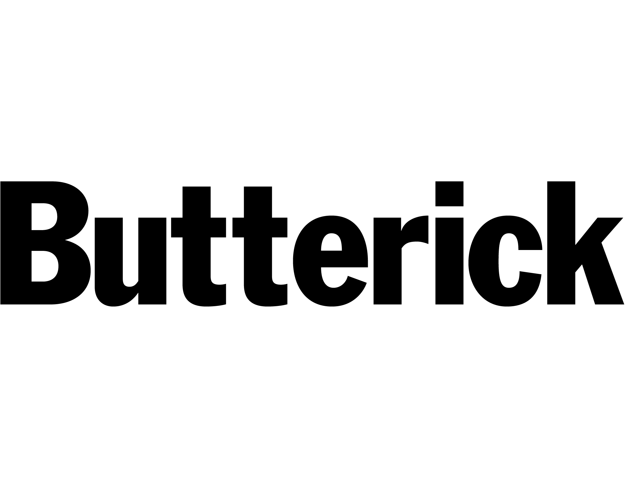 Butterick symönster