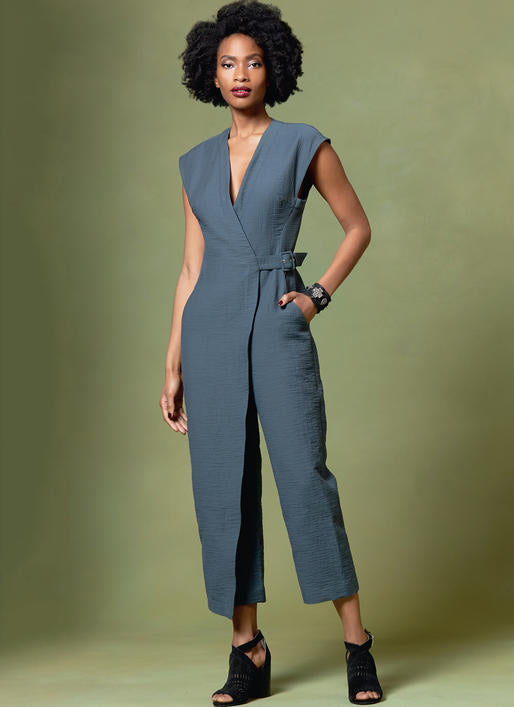 Symönster Vogue Patterns 1645 - Jumpsuit - Dam | Bild 1