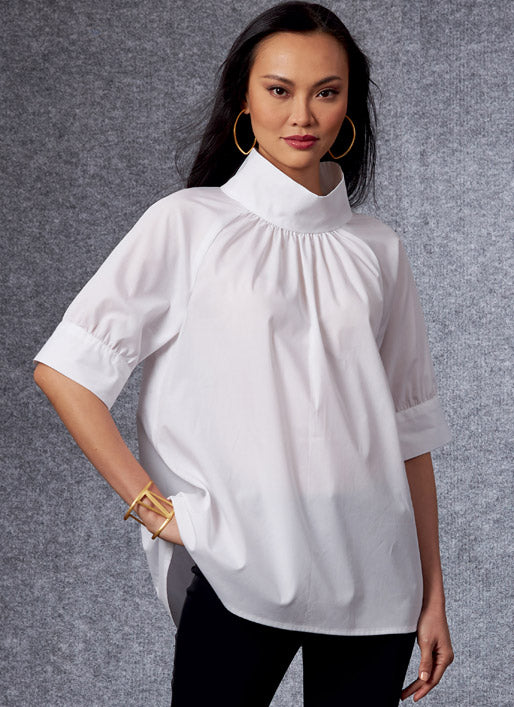 Symönster Vogue Patterns 1701 - Top Blus - Dam | Bild 1