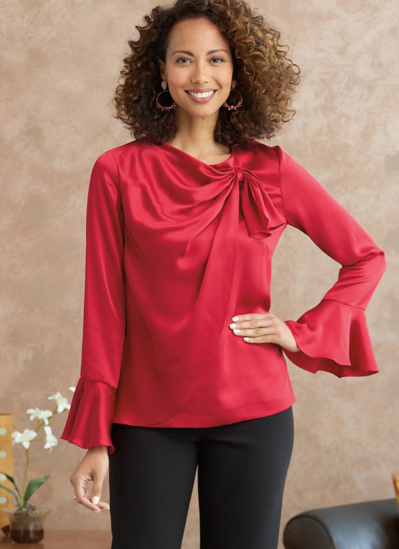Symönster Butterick 6712 - Top Blus - Dam | Bild 1
