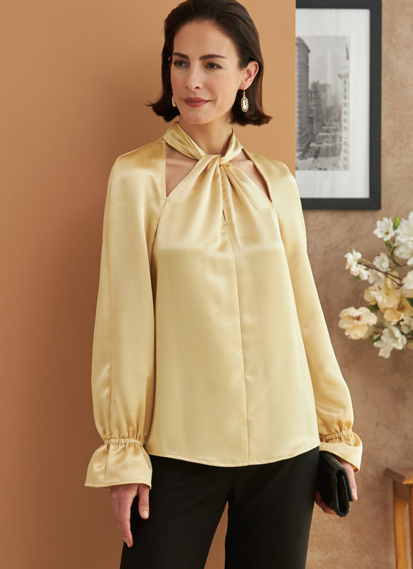 Symönster Butterick 6713 - Top - Dam | Bild 1
