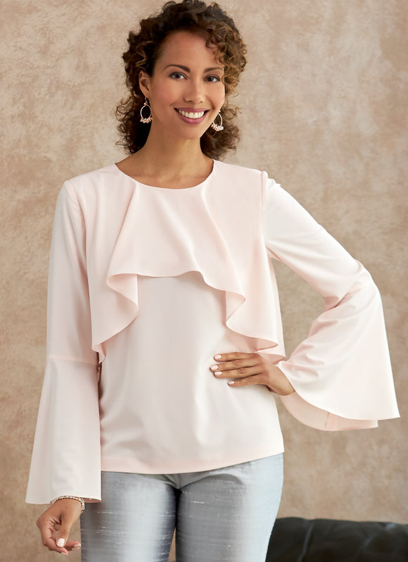 Symönster Butterick 6714 - Top Blus - Dam | Bild 1