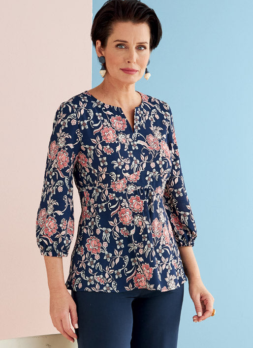 Symönster Butterick 6732 - Top Blus - Dam | Bild 1