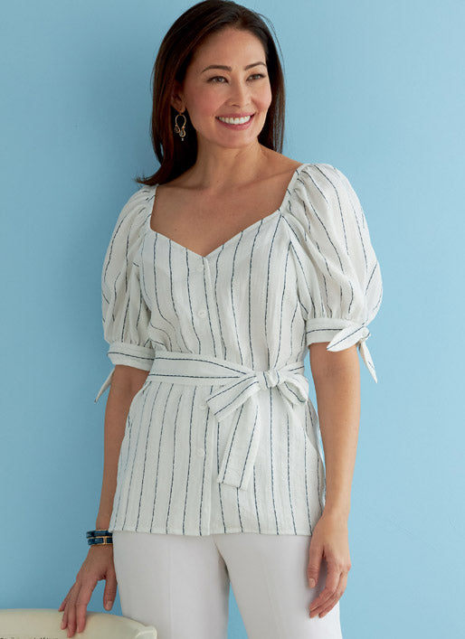 Symönster Butterick 6733 - Top Blus - Dam | Bild 1