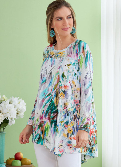 Symönster Butterick 6735 - Top Tunika - Dam | Bild 1