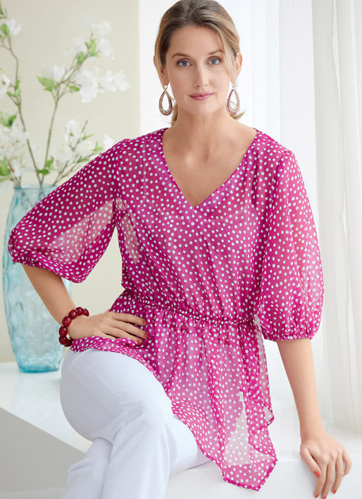Symönster Butterick 6764 - Top - Dam | Bild 1